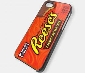 REESES CHOCOLATE - iPhone 5 case, iPhone 4 case, iphone 4s case hard case MSH